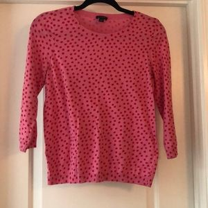 Ann Taylor Polka Dot Sweater